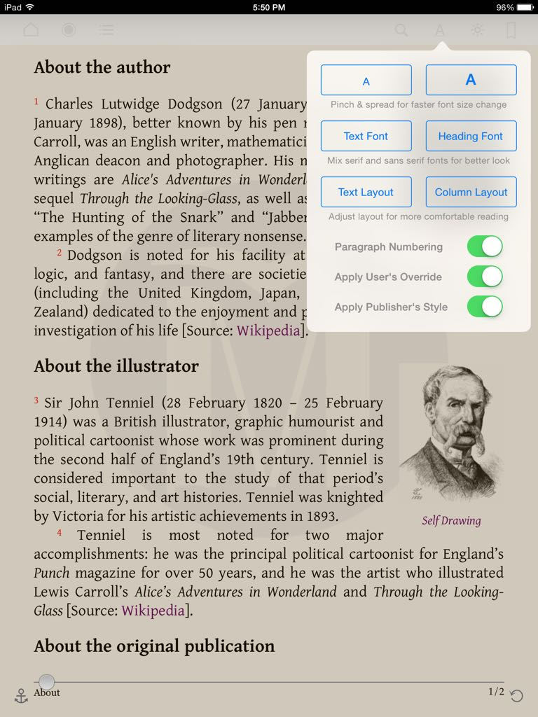 Overview mapleread enhance book page layout the way you prefer with fandeluxe Images